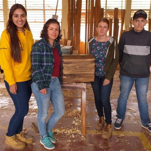 Actividad para jóvenes reforestadores del municipio de Jardín
